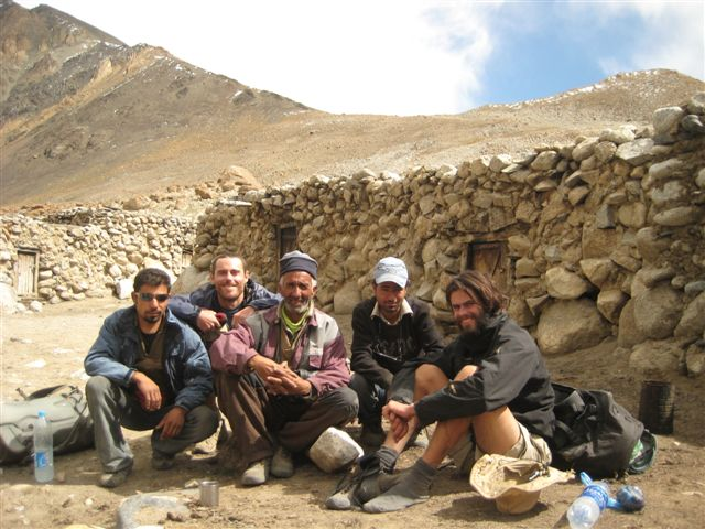 Cam amongst friends in Pakistan