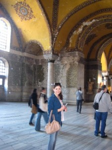 Danielle in Istanbul