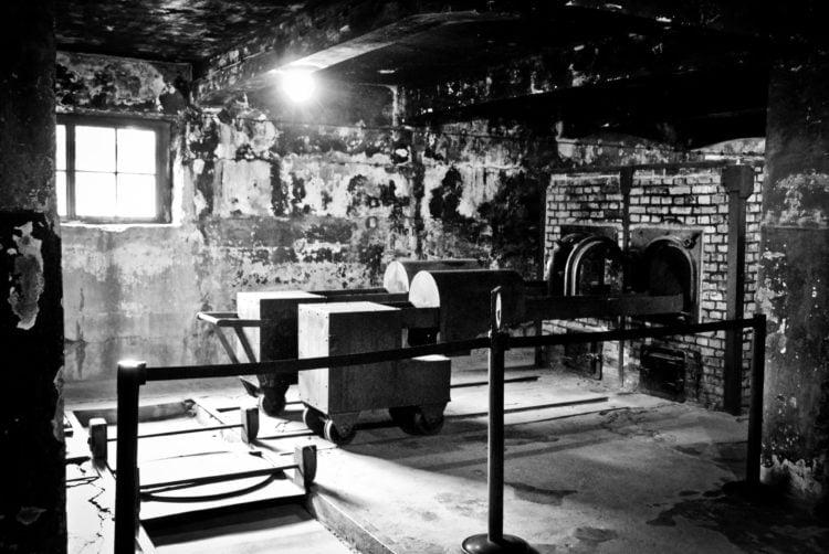 Oven at Auschwitz