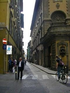 Via Della Vigna Nuovo, my Italian home in Florence