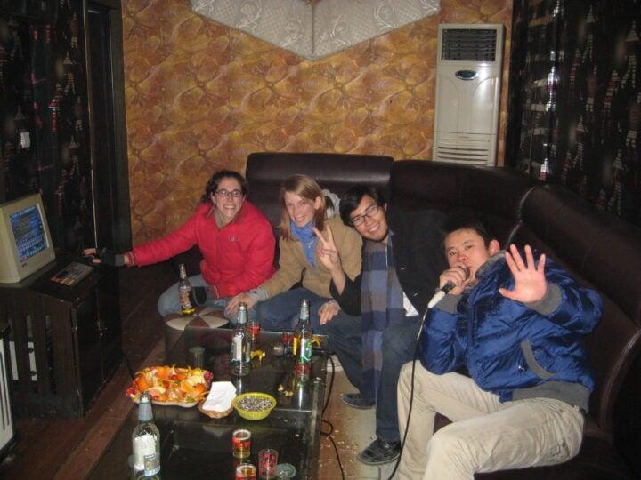An ordinary night at a KTV place in Jincheng, Sichuan