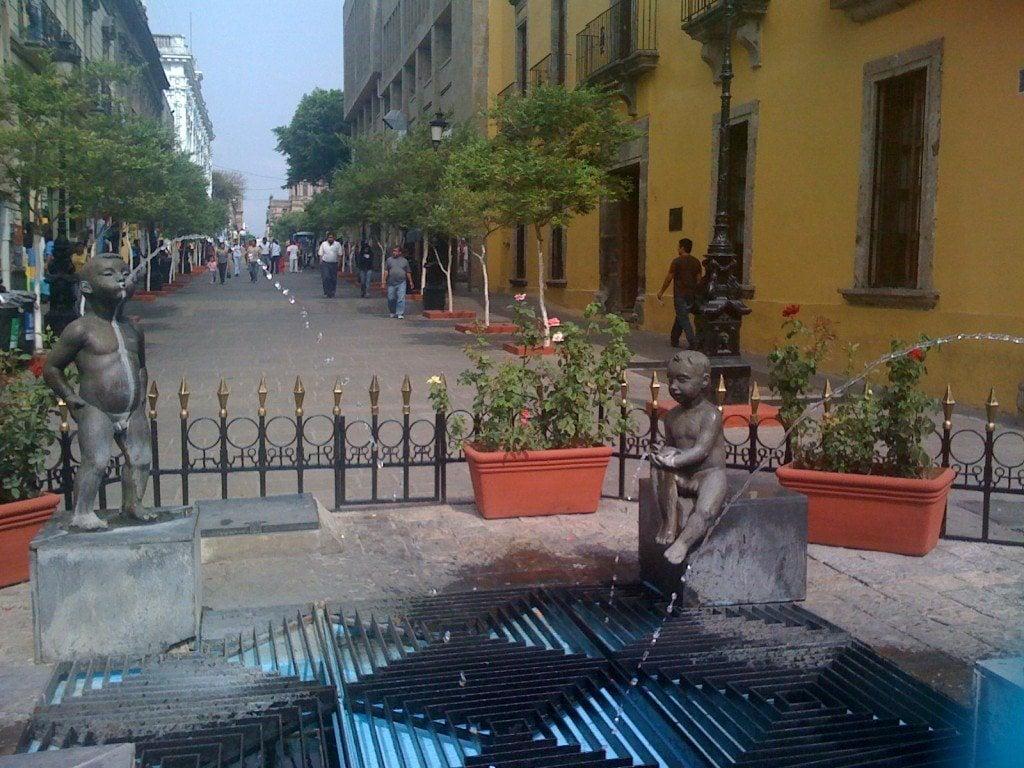 Guadalajara's Centro Historico near Plaza Tapatia