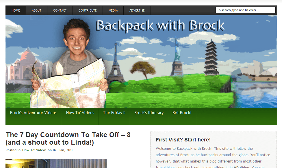 Backpack with Brock
