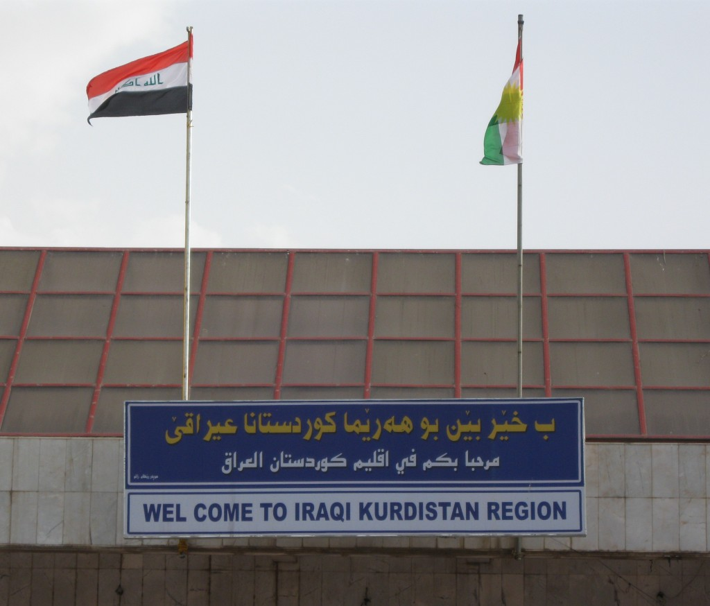 The Turkish/Iraqi-Kurdistan border