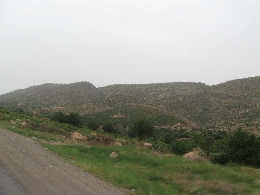 The road from Zakho to Dohuk