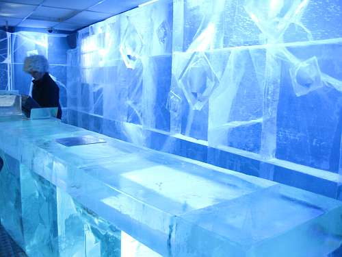 The Absolute Icebar in Stockholm