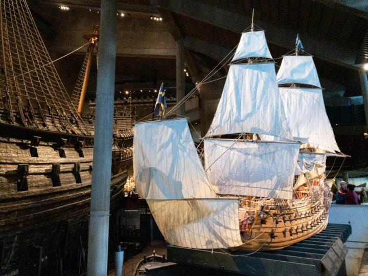 Vasa scale model