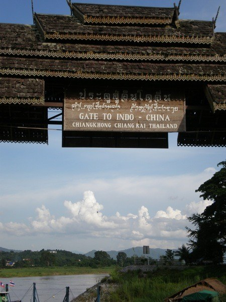 Thai border sign