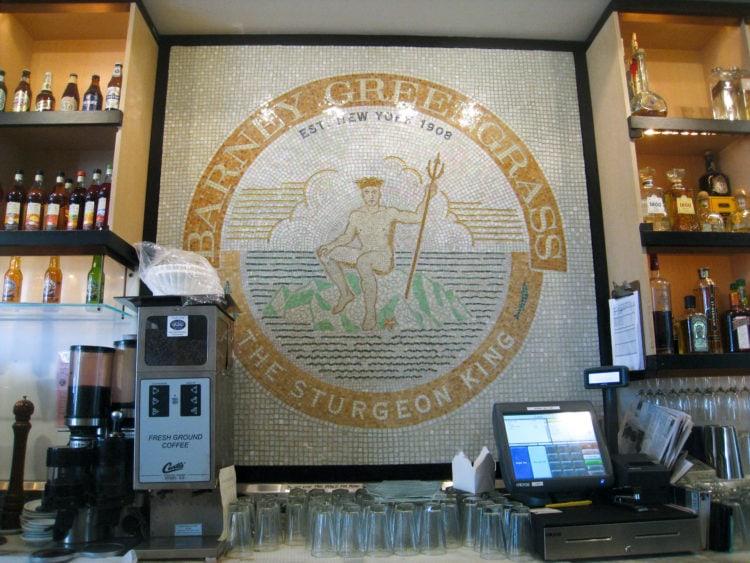 Barney Greengrass mosaic