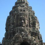The mysterious Bayon smile.