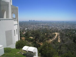 View toward downtown Los Angeles