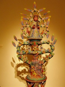 Terracota sculpture of Mariang Banahaw, a goddess in Philippine folklore, and was made by Filipino artist Lorenzo Soriano. The sculpture is part of the permanent collection of Singapore Art Museum.