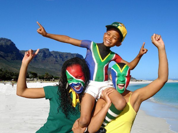World Cup fever hits South Africa.