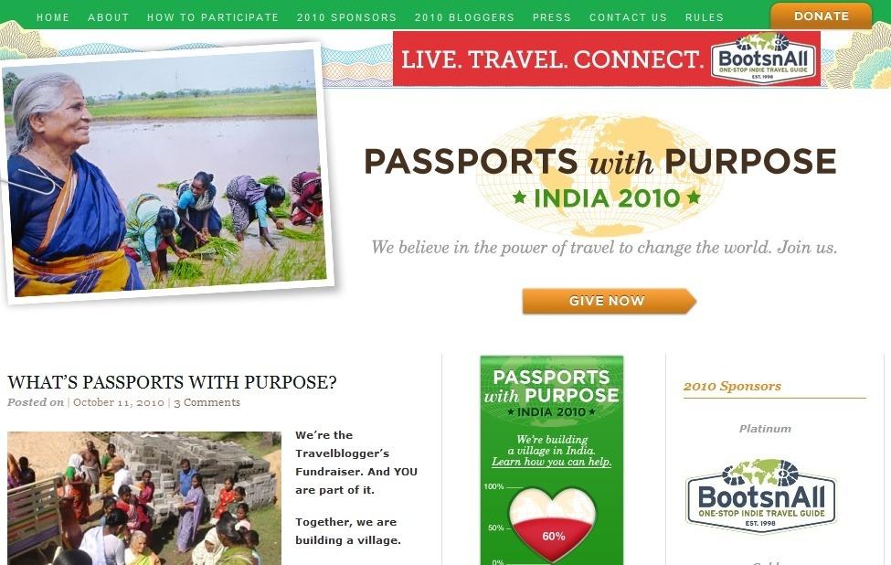 Passports with Purpose