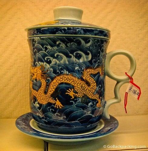 Dragon Tea Cup