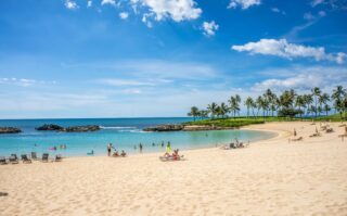 Ko Olina lagoon on Oahu (photo: Michelle Maria, Pixabay)