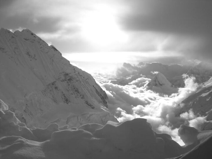 View of the Lhotse face