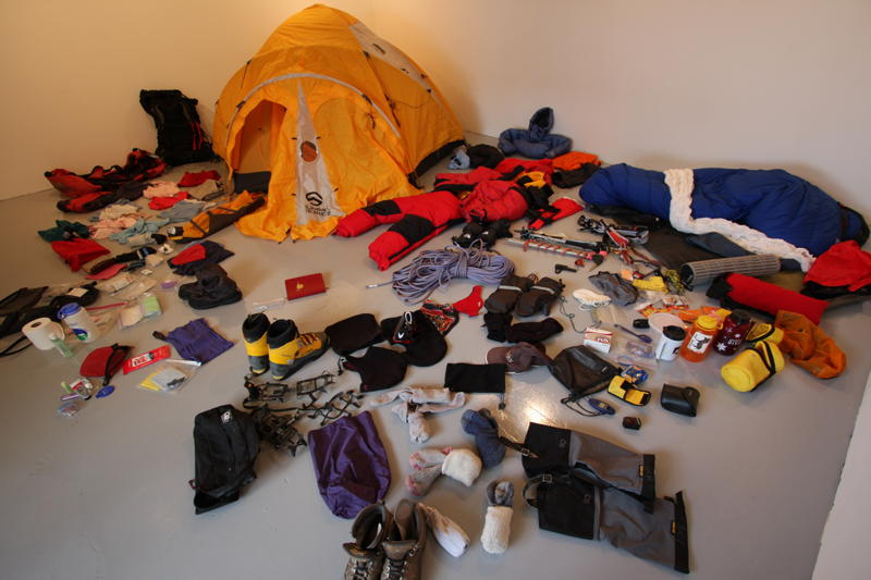 Mountain climbing gear