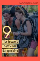 avoid theft while backpacking