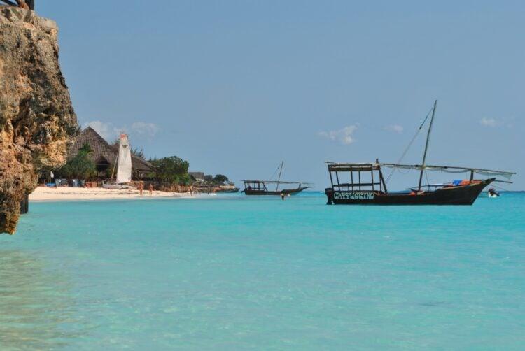 A beautiful Zanzibar beach