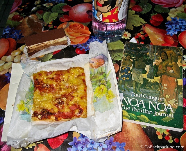 Gaugin & Pizza in French Polynesia
