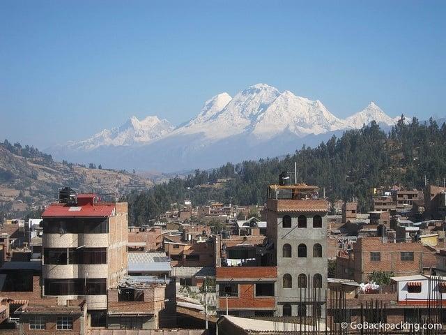 Huascaran mountain