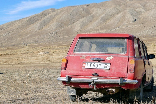 kyrgyz countryside