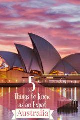 expat in australia