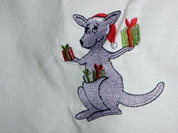 Kangaroo Santa