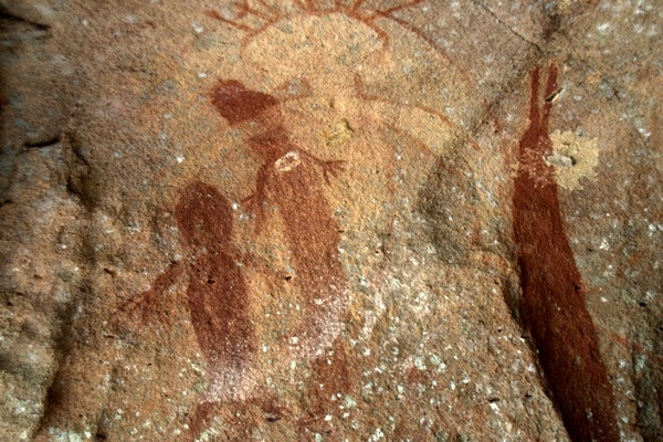 Aboriginal art on a tour