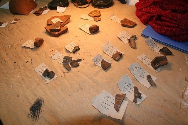 identifying amphorae