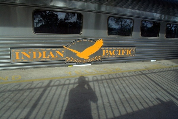 indian pacific in adelaide station
