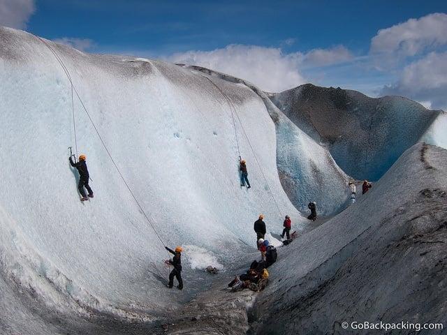Ice Climbing in Patagonia