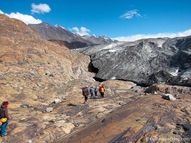 Surprise Ending on Viedma Glacier