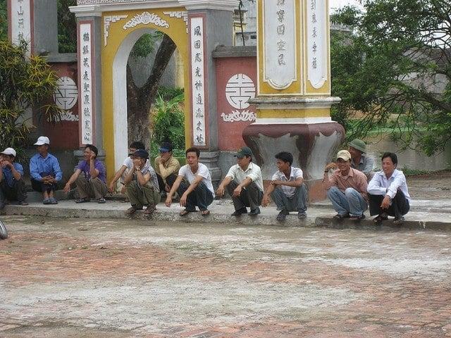 Asian squat