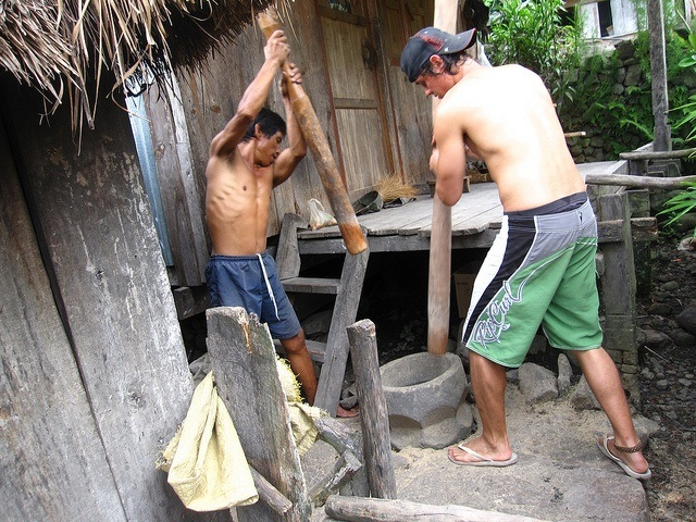 Learning to Pound Rice in the Philippines