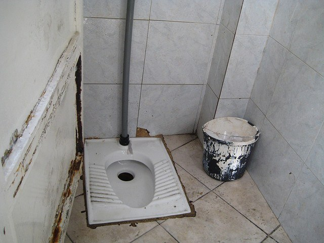squat toilet middle east