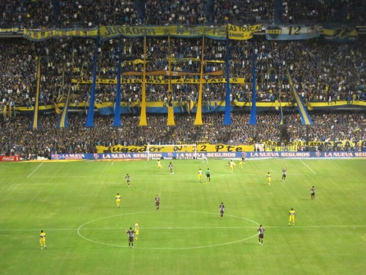 boca juniors match (photo: Michael Tieso)
