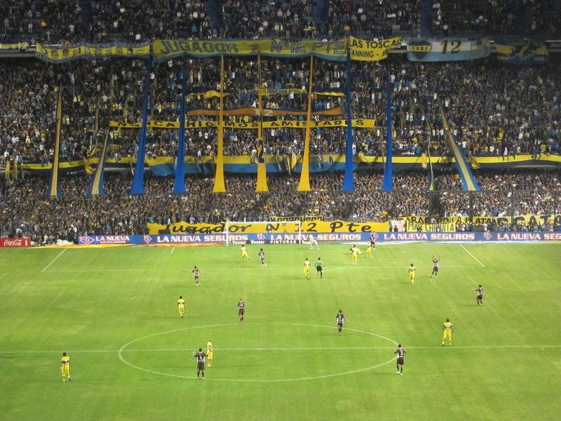boca juniors match (photo: Michael Tieso)