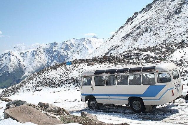 long distance bus