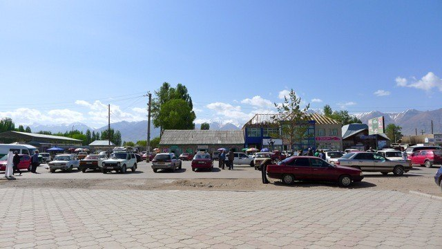 taxi station in kochkor