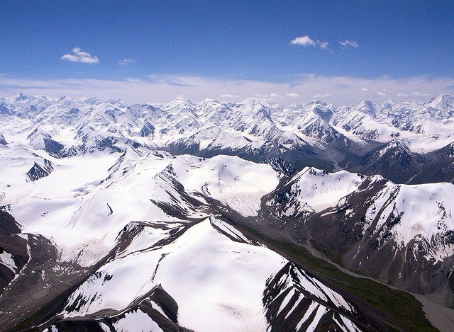 The Tian Shan Mountains