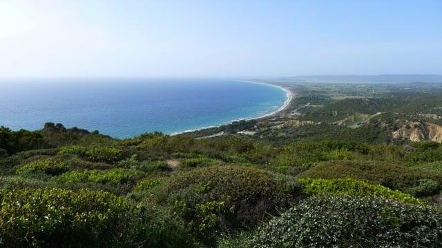 Scenery around Gallipoli