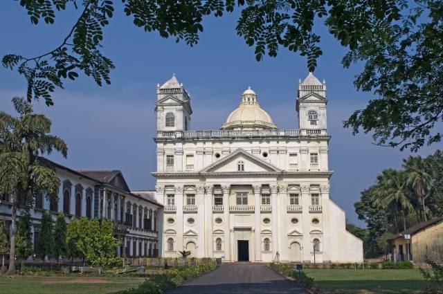 Church of St Cajetan in Goa