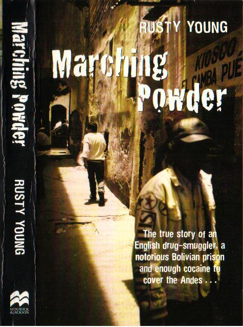 Marching Powder book cover