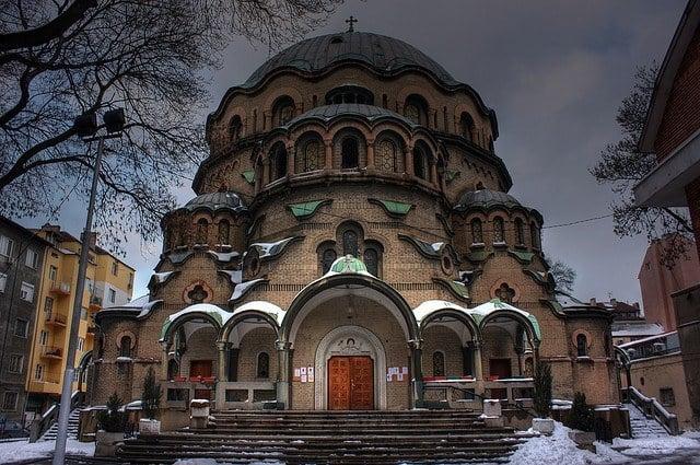 The church of Cveta Paraskeva in Sofia