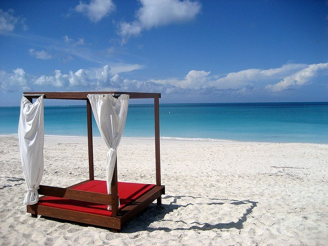 Beach in the Turks and Caicos