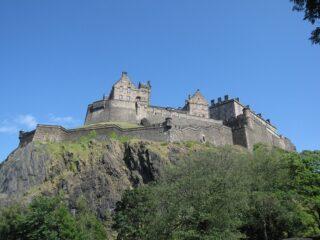Edinburgh Castle (photo by: Bernt Rostad)