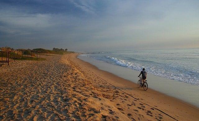 Cyclist, Gunjur Gambia
