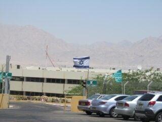 Israel land border